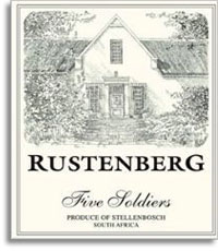 2010 Rustenberg Wines Chardonnay Five Soldiers Stellenbosch