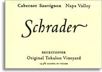2009 Schrader Cellars Cabernet Sauvignon Beckstoffer To Kalon Vineyard Napa Valley