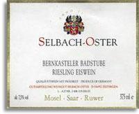 2007 Selbach Oster Bernkasteler Badstube Riesling Eiswein