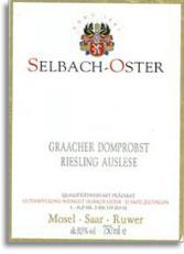 2007 Selbach Oster Graacher Domprobst Riesling Auslese
