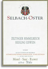 2009 Selbach Oster Zeltinger Himmelreich Junior Riesling Eiswein