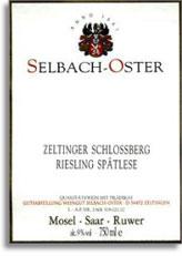 2010 Selbach Oster Zeltinger Schlossberg Riesling Spatlese