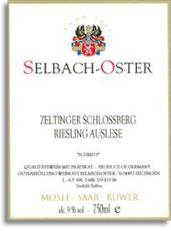 2005 Selbach Oster Zeltinger Schlossberg Schmitt Riesling Auslese
