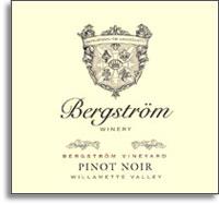 2012 Bergstrom Wines Pinot Noir Bergstrom Vineyard Dundee Hills