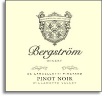 2011 Bergstrom Wines Pinot Noir De Lancellotti Vineyard Chehalem Mountains