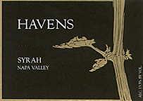 2002 Havens Wine Cellars Syrah Napa Valley