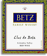 2006 Betz Family Vineyards Clos De Betz Red Wine Columbia Valley