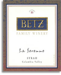 2007 Betz Family Vineyards Syrah La Serenne Yakima Valley