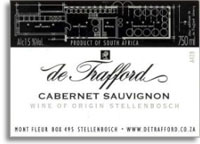 2008 De Trafford Wines Cabernet Sauvignon Stellenbosch