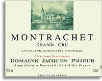 2011 Domaine Jacques Prieur Montrachet