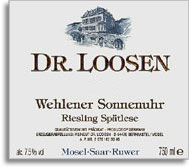 2010 Dr. Loosen Wehlener Sonnenuhr Riesling Spatlese