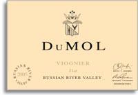 2011 Dumol Viognier Lia Russian River Valley