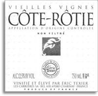 2011 Eric Texier Cote-Rotie Vieilles Vignes