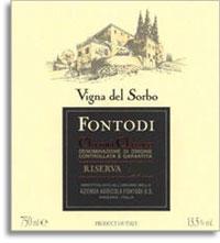 2001 Fontodi Chianti Classico Riserva Vigna Del Sorbo