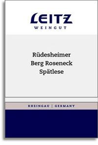 2007 Josef Leitz Rudesheimer Berg Roseneck Riesling Spatlese