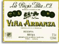 2001 La Rioja Alta Vina Ardanza Rioja Reserva