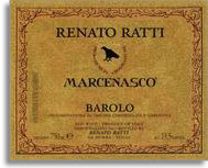 2006 Renato Ratti Barolo Marcenasco