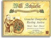 2011 Willi Schaefer Graacher Domprobst Riesling Auslese 11