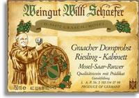 2010 Willi Schaefer Graacher Domprobst Riesling Kabinett