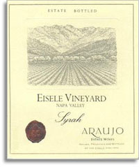 1995 Araujo Estate Syrah Eisele Vineyard Napa Valley