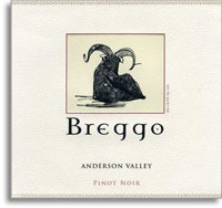 2010 Breggo Cellars Pinot Noir Anderson Valley
