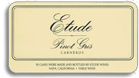 2010 Etude Wines Pinot Gris Carneros