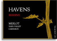 2006 Havens Wine Cellars Merlot Reserve