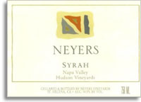 2007 Neyers Vineyards Syrah Hudson Vineyards Napa Valley