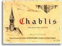 2008 Domaine Vincent Dauvissat Chablis