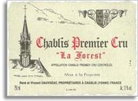 2007 Domaine Vincent Dauvissat Chablis La Forest