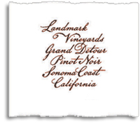 2009 Landmark Vineyards Pinot Noir Grand Detour Sonoma Coast
