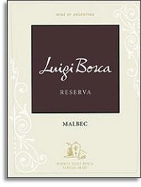 2008 Bodega Luigi Bosca Malbec Reserva Lujan De Cuyo