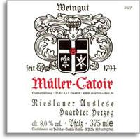 2007 Muller-Catoir Haardter Herzog Rieslaner Auslese