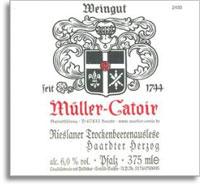 2014 Muller-Catoir Haardter Herzog Rieslaner Trockenbeerenauslese (half bottle)