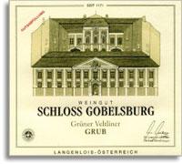 2012 Schloss Gobelsburg Gruner Veltliner Grub