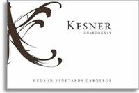 2008 Kesner Wines Chardonnay Hudson Vineyard Carneros