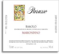 2011 Armando Parusso Barolo Mariondino