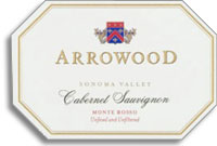 2008 Arrowood Vineyards And Winery Cabernet Sauvignon Monte Rosso Vineyard Sonoma Valley