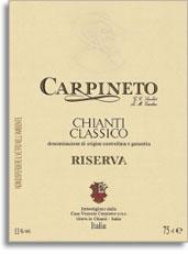 2005 Carpineto Chianti Classico Riserva