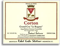 2010 Domaine Bertrand Ambroise Corton Le Rognet