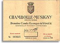 1990 Domaine Comte Georges de Vogue Chambolle-Musigny