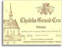 2007 Domaine Francois Raveneau Chablis Valmur
