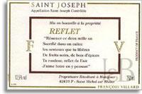 2004 Domaine Francois Villard Saint-Joseph Reflet