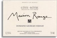 2012 Domaine Georges Vernay Cote-Rotie Maison Rouge