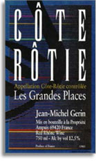 1998 Domaine Jean Michel Gerin Cote-Rotie Les Grandes Places