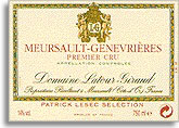 2011 Domaine Latour Giraud Meursault Les Genevrieres