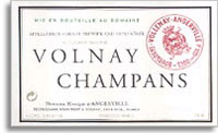 2005 Domaine Marquis d'Angerville Volnay Champans