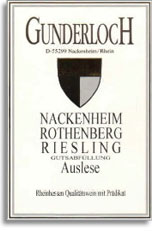 2008 Gunderloch Nackenheimer Rothenberg Riesling Auslese