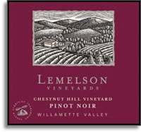 2007 Lemelson Vineyards Pinot Noir Chestnut Hill Vineyard Willamette Valley