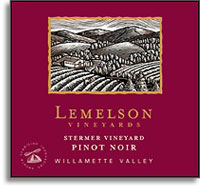 2010 Lemelson Vineyards Pinot Noir Stermer Vineyard Willamette Valley